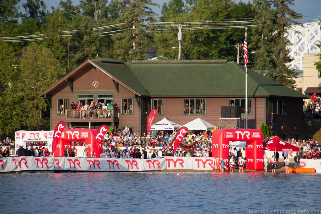 IMLP 2012 Swim Start & Finish