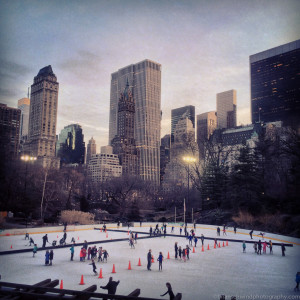 America, New York, New York City, North America, Park, Places, Skating, USA, United States, city, iPhone