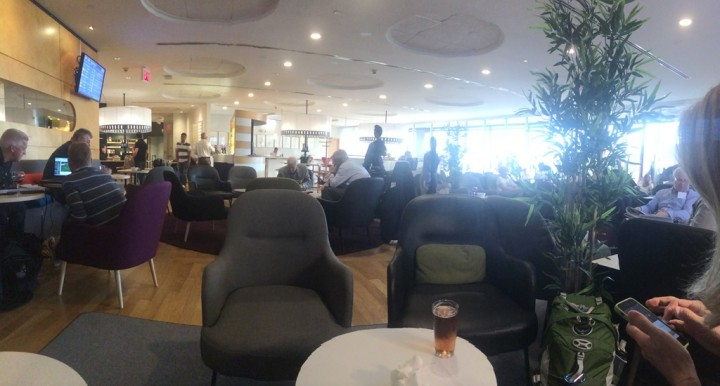 The SAS Lounge - Newark Airport