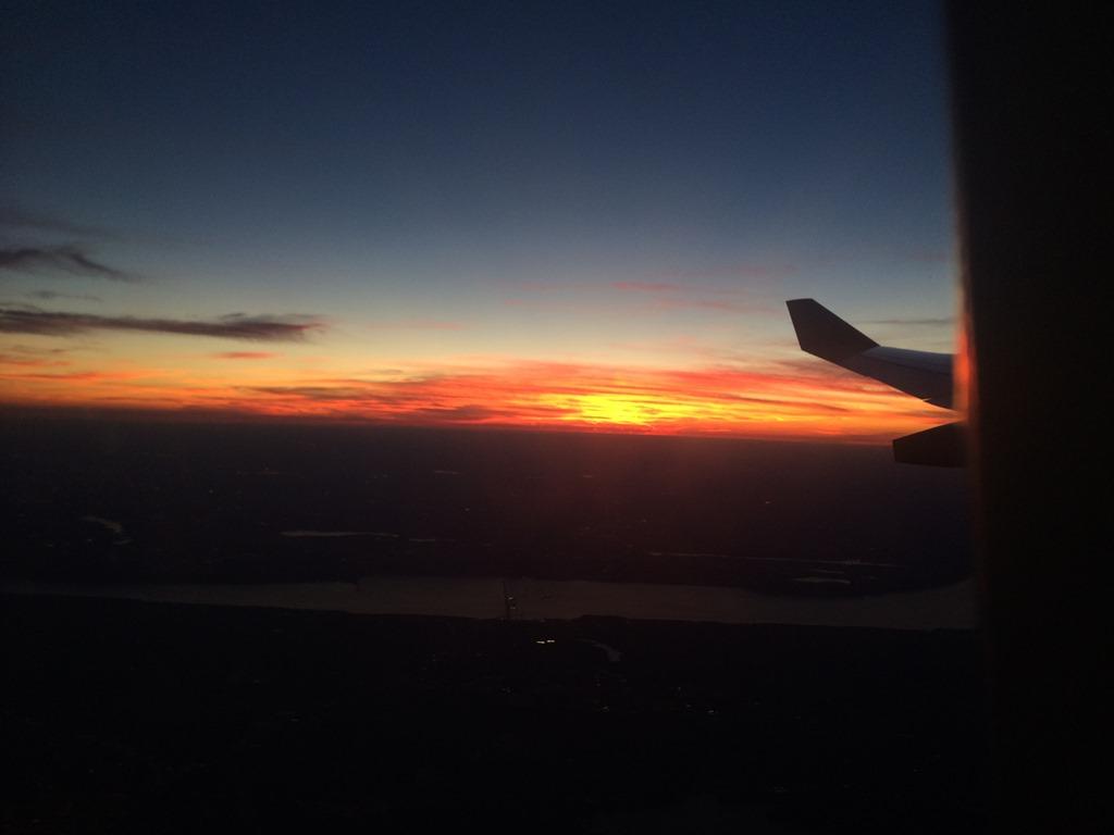 SAS, flight, sunset, oslo, norway, tuscany, italy
