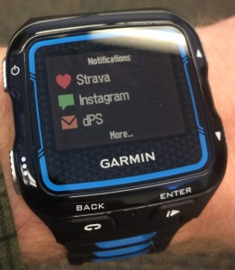 Garmin 920xt Notifications