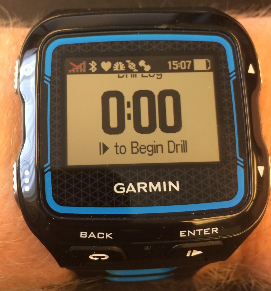 Garmin 920xt Swim Drill Mode