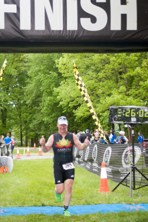 French Creek Tri Finish