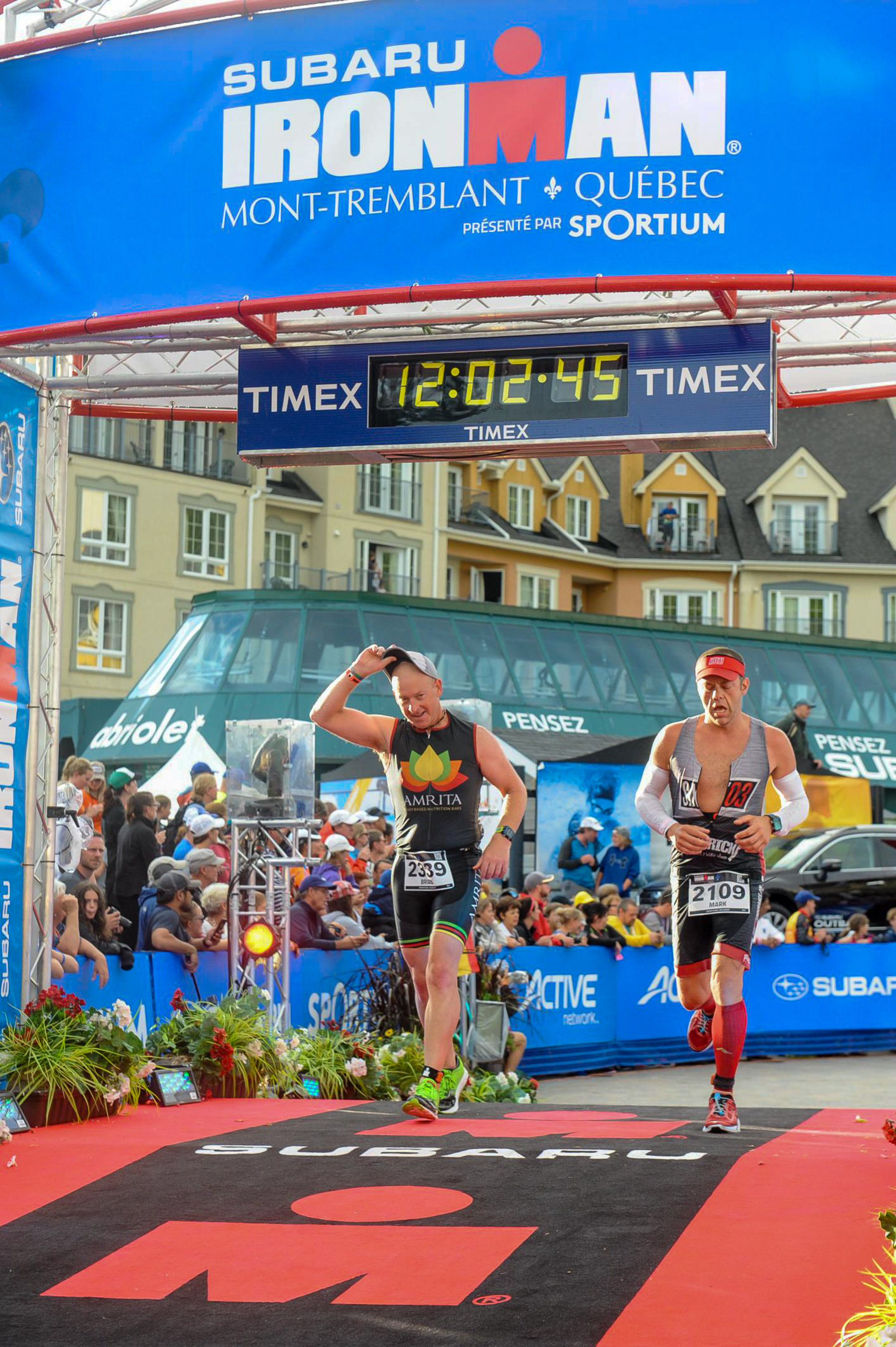 Ironman Mont-Tremblant 2016 - Finished 11:46:47!!!